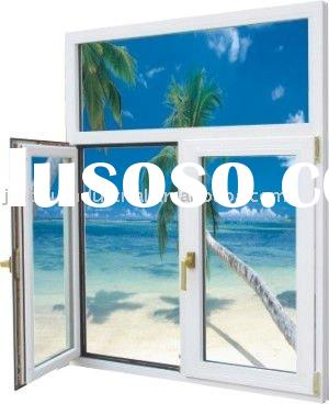 2012 European new aluminum windows and doors with handle (factory)