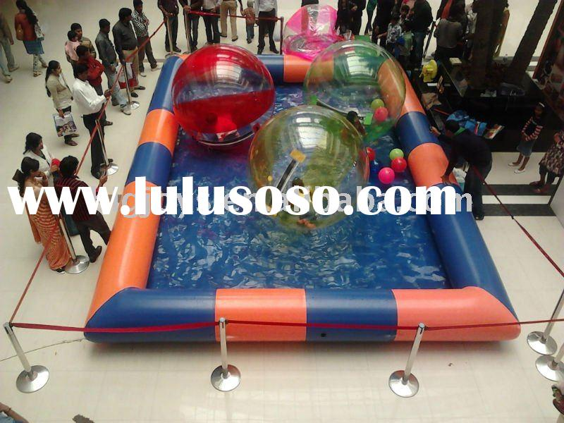 2012 HOT Inflatable Pool for bumper boat, water walking ball with CE certification