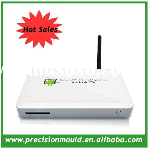 2012 Hot New iptv arabic channels android tv box, 1080P media player