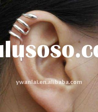 2012 high fashion jewelry snake ear cuff earrings factory direct