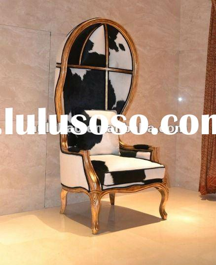 2012 new design hot selling high quality popular classical solid wood hotel antique canopy chair