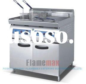20+20L Stainless Steel Industrial Fryer