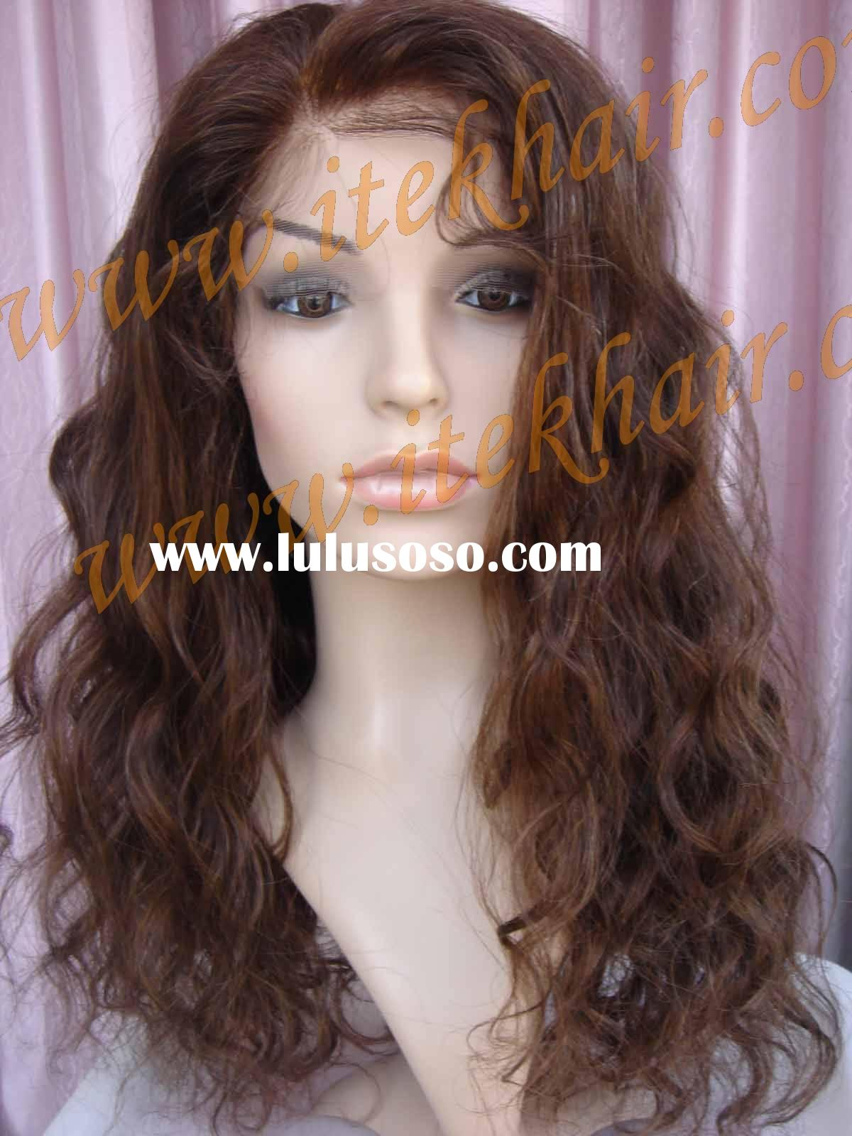 """20"""" LOOSE CURL; more than 400pcs Indian remy hair full lace wigs in stock!No MOQ! PAYPAL ACCEPT"""