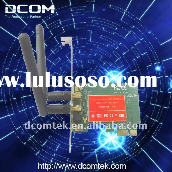 2.4GHz 802.11b/g/n Wireless LAN N 300Mbps PCI Express Adapter(wireless network card,PCIE card)