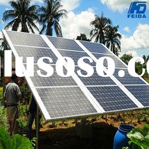 3000W solar power supply system for home & commercial
