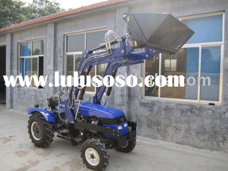 35hp front end loader/wheel tractor