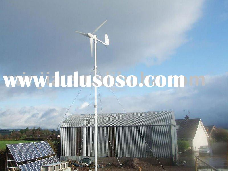 5KW wind power turbine hybrid system