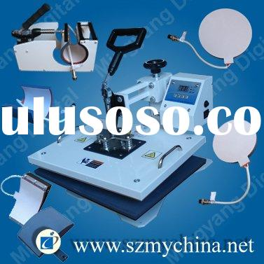 6 IN 1 sublimation heat transfer machine with CE certificate