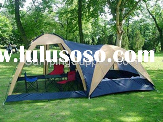6 person camping family tent