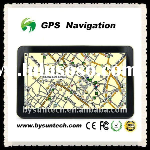 7 inch HD GPS support Win CE 6.0