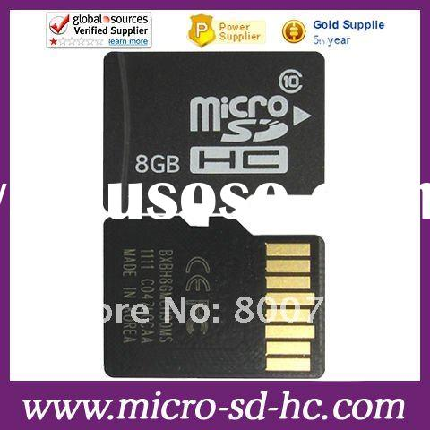 8gb Class 10 Micro SDHC/MicroSD Flash Memory Card