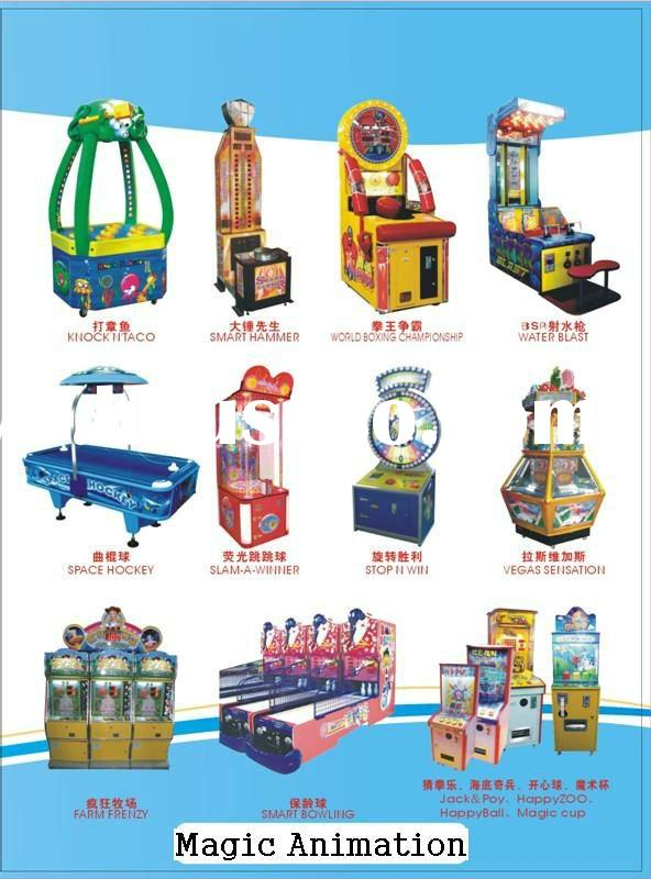 ALL kinds of ticket redemption amusement game machine new in 2012