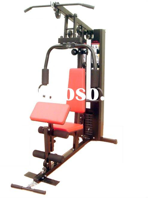 Weight stack132lbs 2 station home gym strength equipment for Cost of building a gym