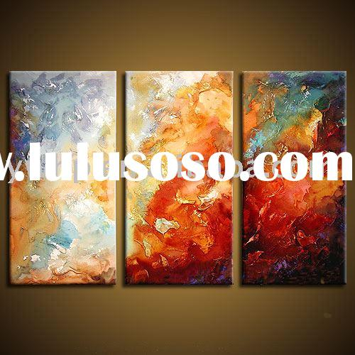 Abstract oil painting,grouped oil painting, canvas oil painting,wall art