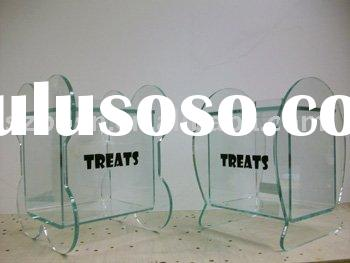 Acrylic Sweets Box,Plexiglass Candy Display,Lucite Gravity Bin