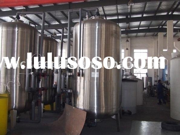 Activated carbon filter , filling machine, water treatment system