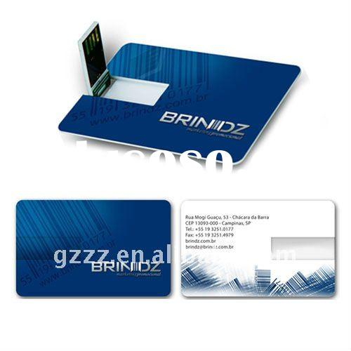 Advertising Business Card USB Drive