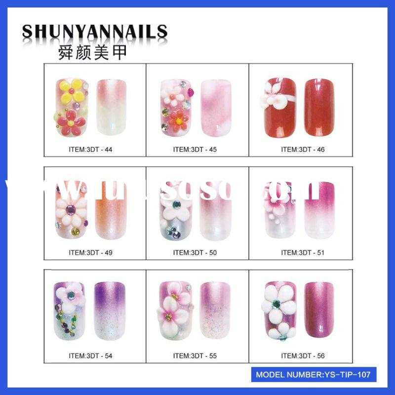 Airbrush design nail tips YS-TIP107