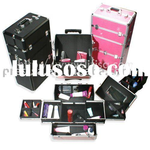 Aluminum Trolley Makeup Case (TC002)