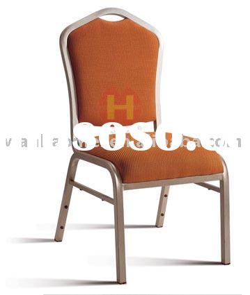 Aluminum banquet seating chair A1301 waterfall shape comfortable seat Manufacturer