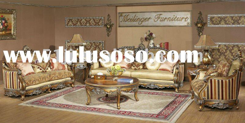 American Style Solid Wooden Frame Living room Set Sofa-MLG-M8835