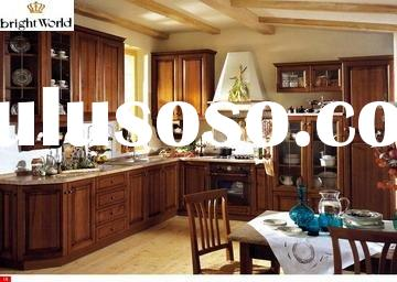 American solid wood style Kitchen cabinet