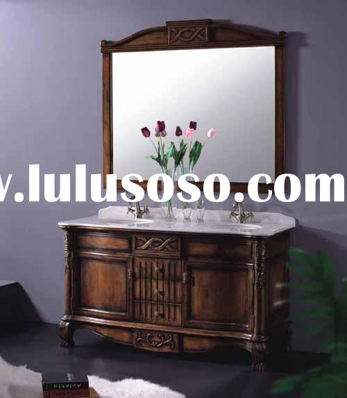 Antique Bathroom Furniture,Bathroom Vanity,Bath Vanity,Bath Cabinets with Marble Vanity Tops