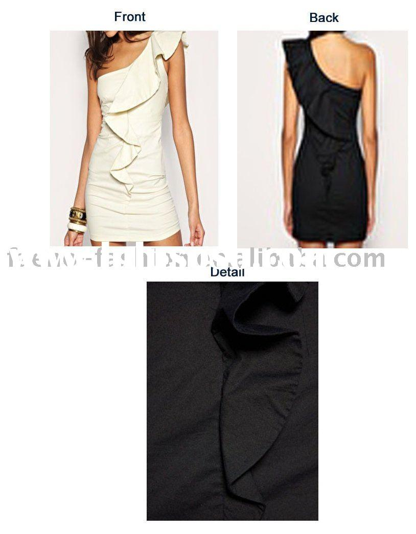 Asymmetric tunic /ladies clothes 2011