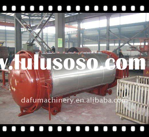 Autoclave for industrial rubber process