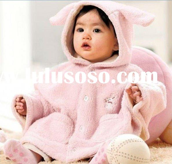 Baby Clothes Winter Thicken Baby Lovely Animal Style Shawls Cape Cloak