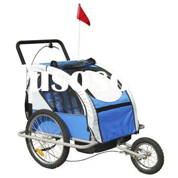 Baby Stoller with Bicycle-trailer Attachment