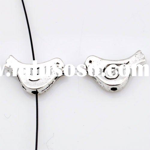 Best selling 2011 newest 20x10mm fashion bird zinc alloy wholesale jewelry finding