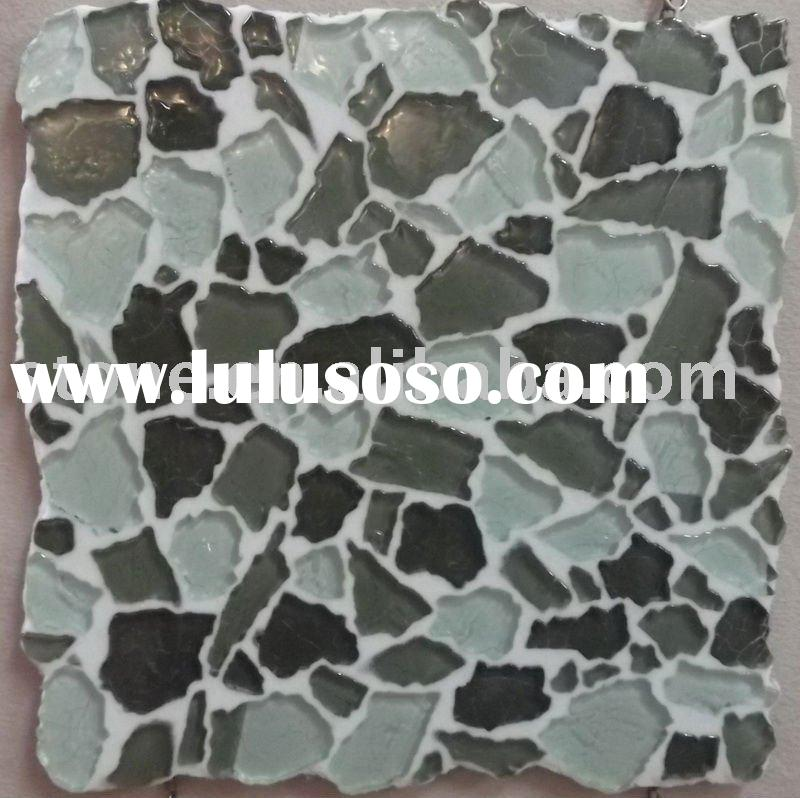 Broken Glass Mosaic Tile