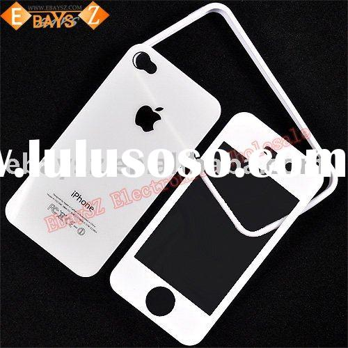 Bumper Case Cover & Full Body Guard for iPhone 4 4G