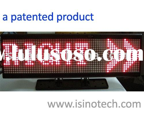 Car LED Sign, LED Message Board, Car LED Display