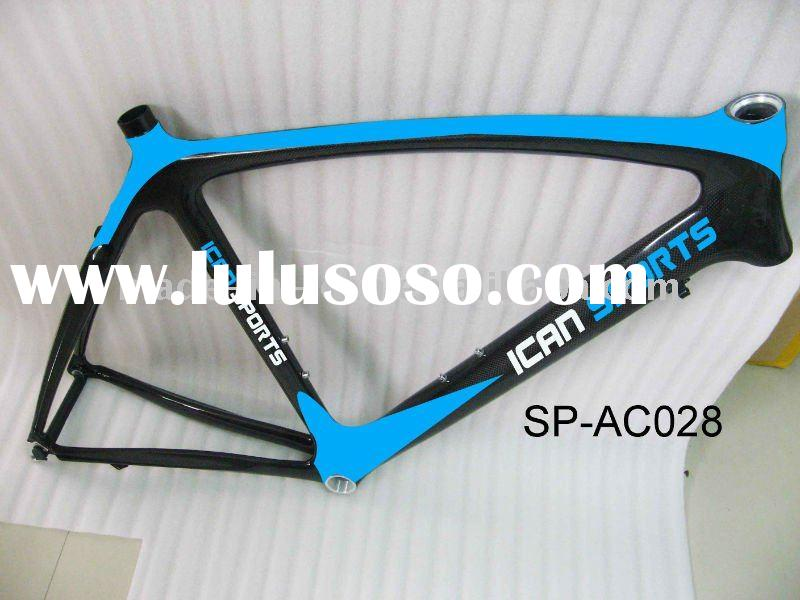 Carbo fiber road bike frames road racing bike frame set