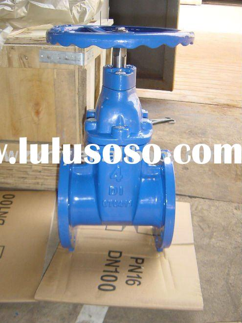 Cast Iron Flange Gate Valve can install with Pneumatic