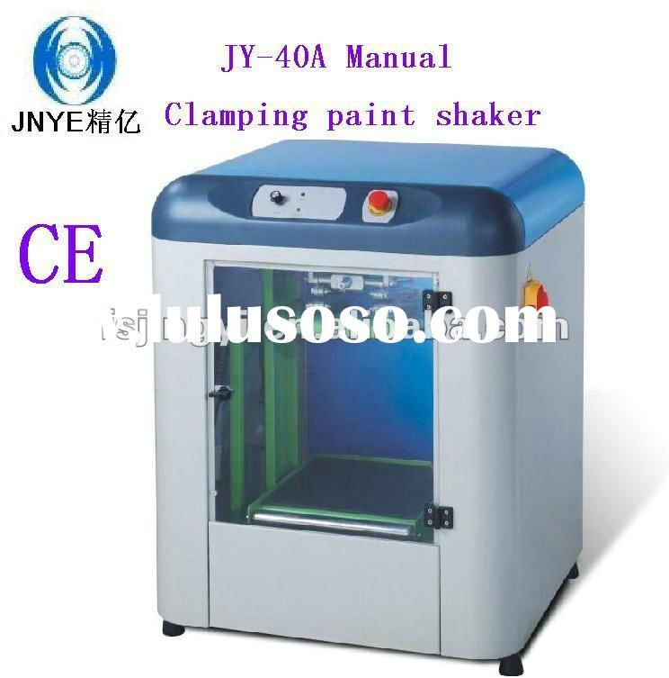 Cheap price manual clamping and automatic paint shaker JY-40A