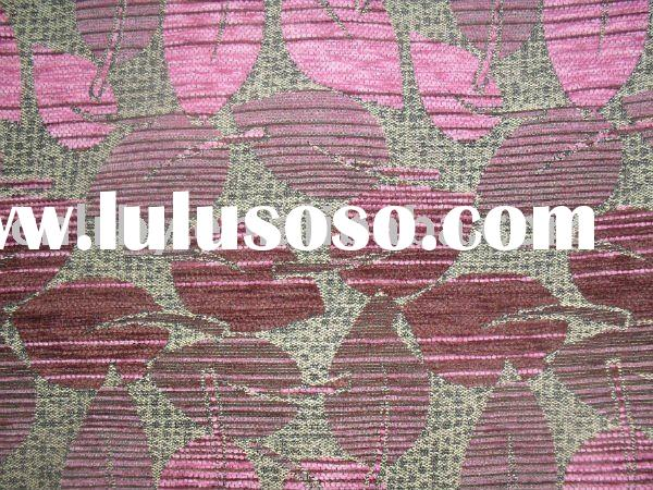 Chenille Cotton upholstery fabric