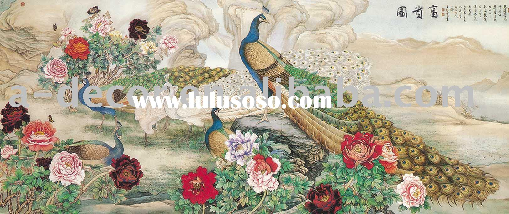 Chinese painting mural for sale price taiwan for Cost of mural painting