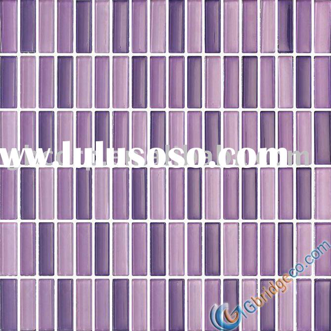 Clear Crystal Glass Mosaic-wall tile mix color (M8CL633)