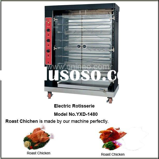 Commercial Electric Chicken Rotisserie For Kitchen Equipment