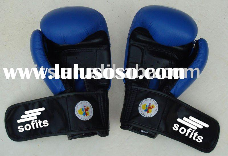 Competition Leather Boxing Gloves