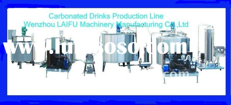 Complete Carbonated Drinks Making Machine(Hot Sale)