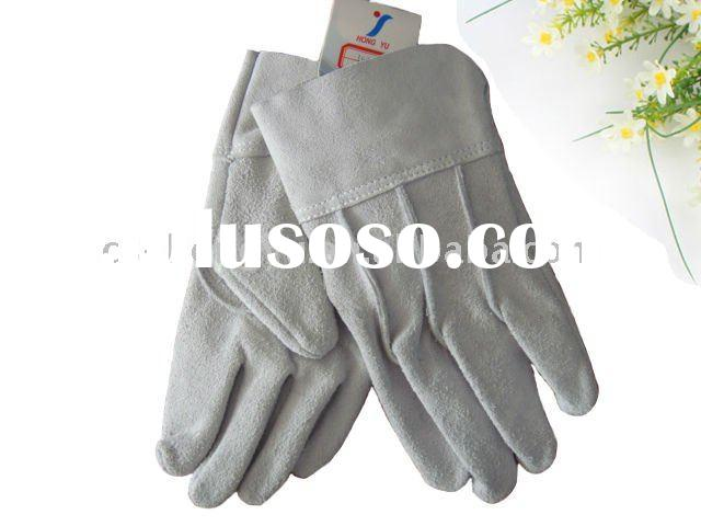Cowhide Split Leather Working Glove