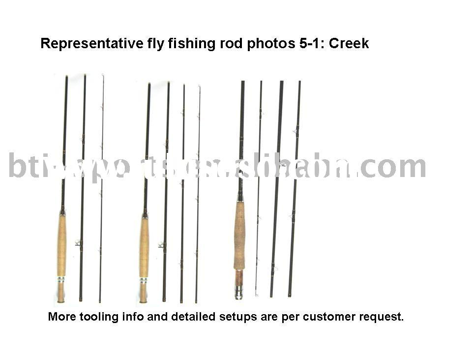 Creek fly fishing rods