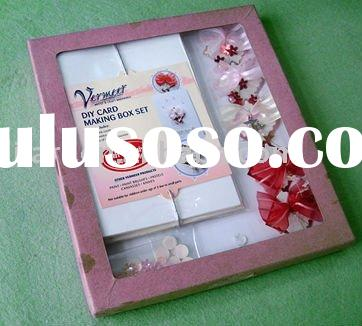 DIY Card making box set /greeting card/ Make your own card/paper card