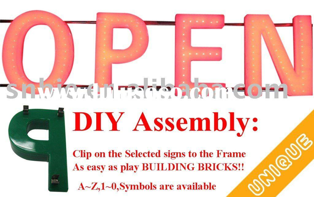 DIY Flexible Acrylic LED Signs Channel Letter