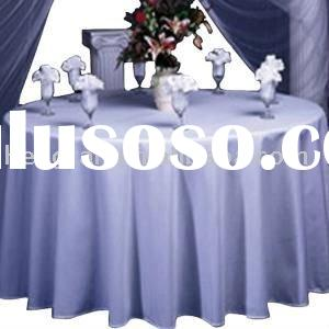 Decorative round table cloth and cheap table cloth and western table cloth