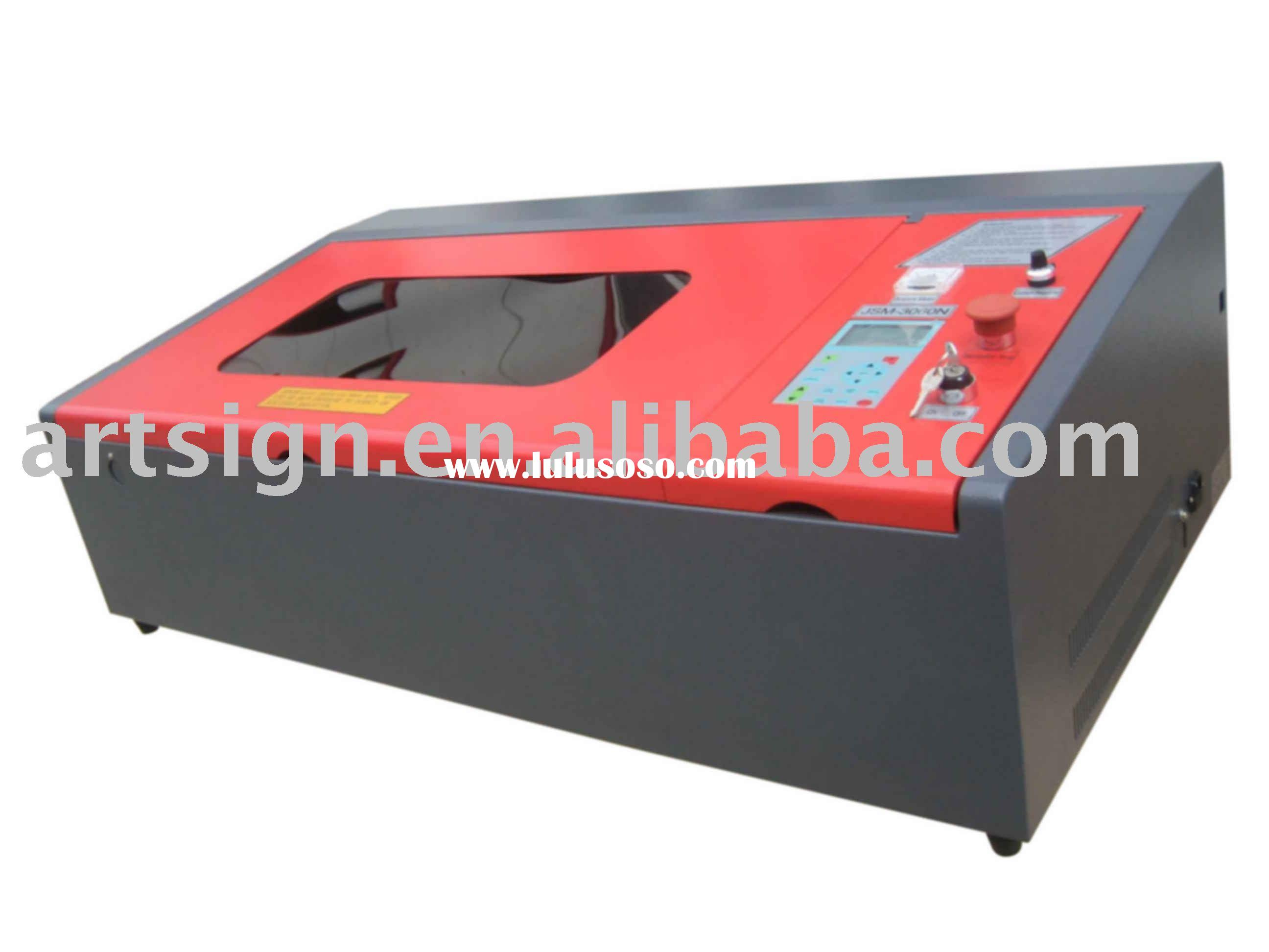 Desktop Laser Engraving Machine JSM3040U with Lasercut software